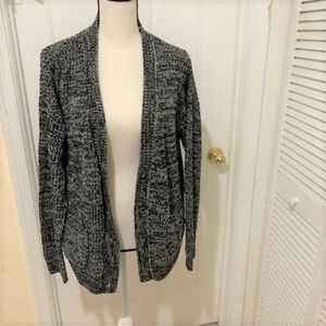 Forever 21 Salt and Pepper Knitted Sweater
